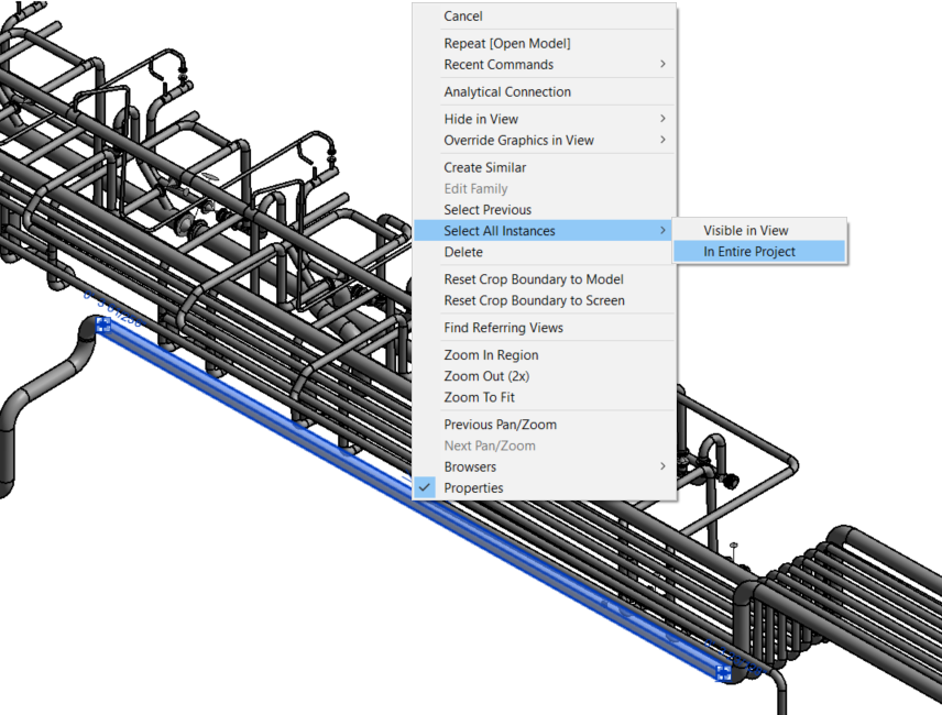 Swapping Families in Revit