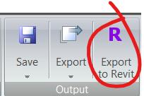 Export to Revit button