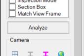 Verity analyze button location